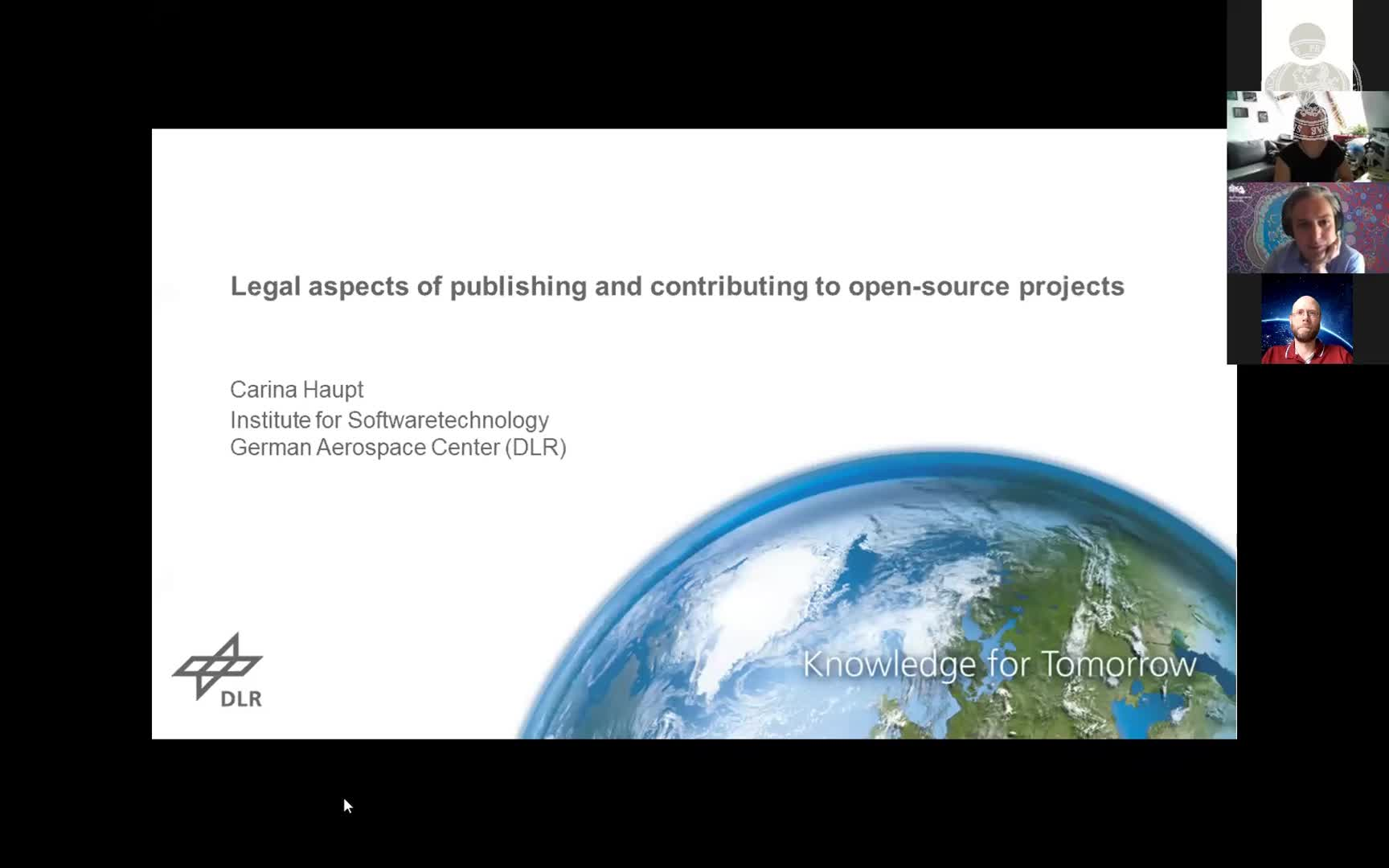 Legal aspects of publishing and contributing to open-source projects preview image