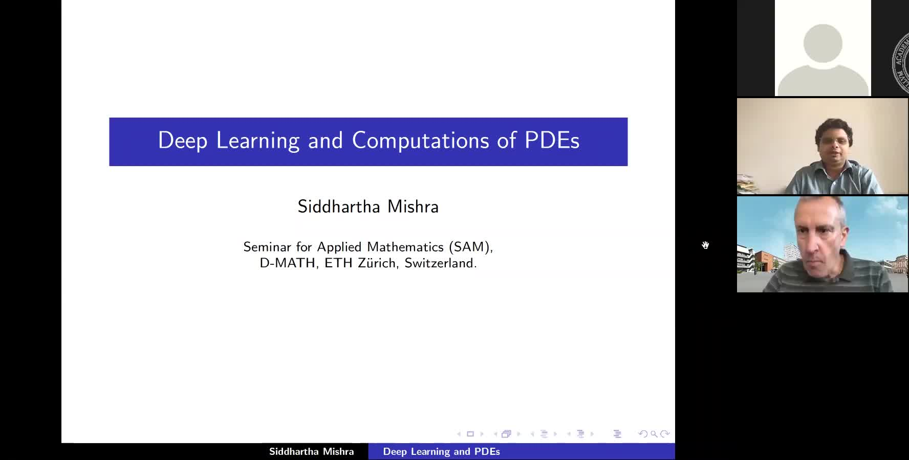 Deep Learning and Computations of PDEs preview image