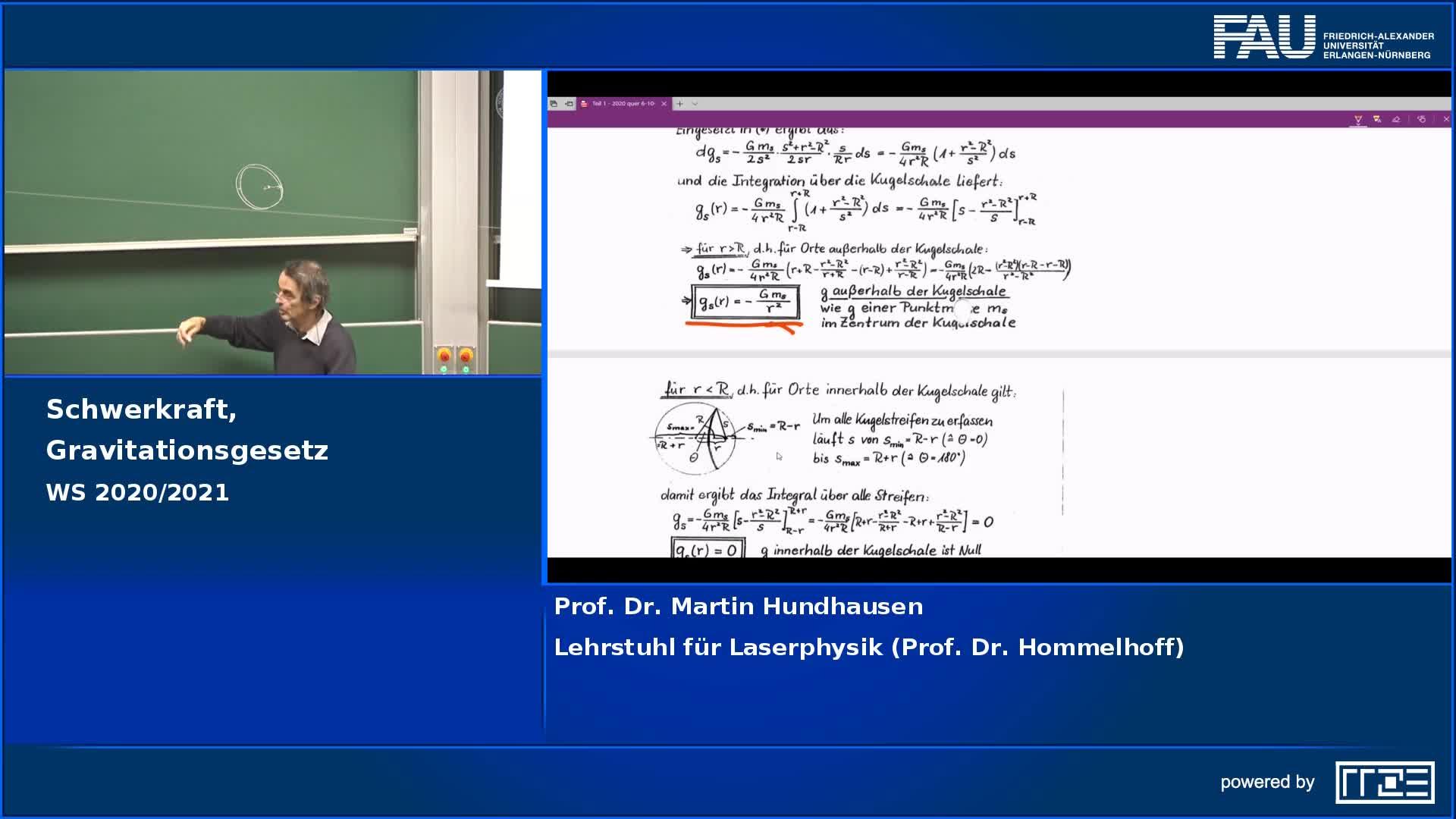 Schwerkraft, Gravitationsgesetz preview image