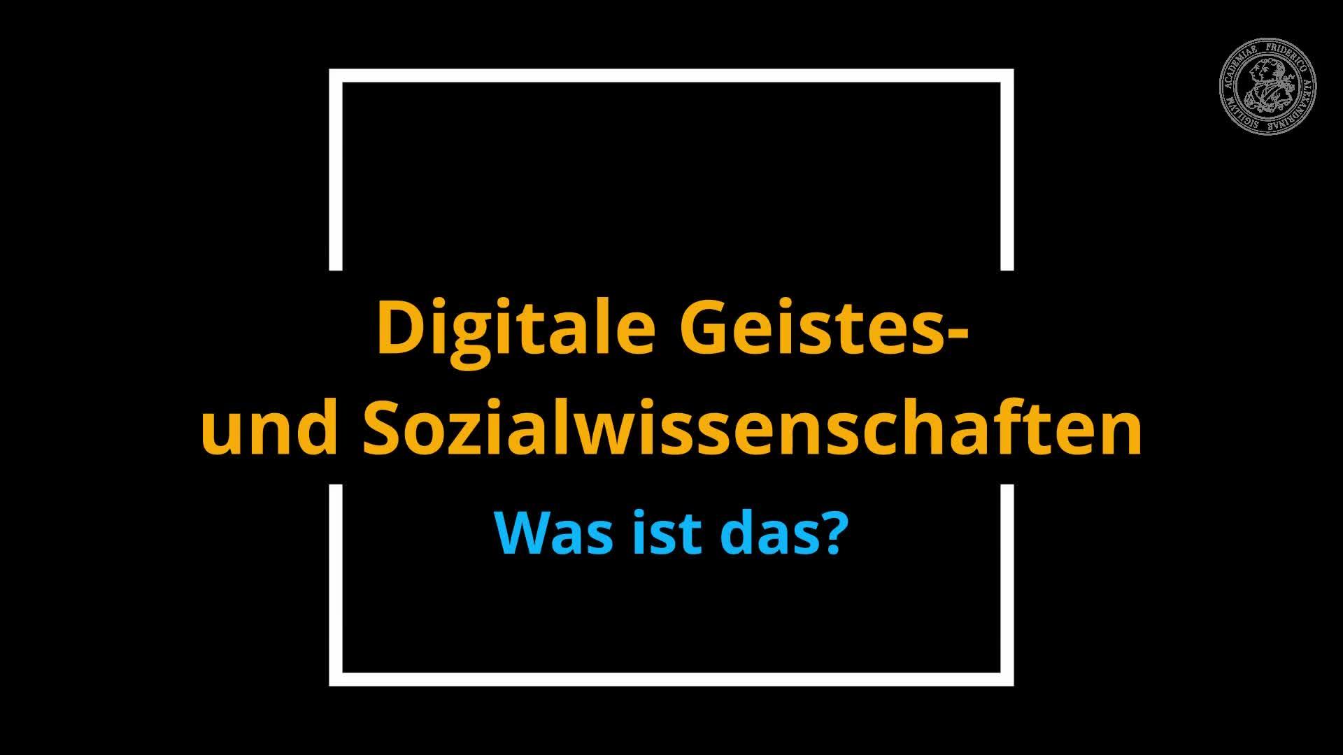 Studiengang Digitale Geistes- und Sozialwissenschaften preview image