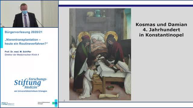 """""""Nierentransplantation –  heute ein Routineverfahren?"""" preview image"""
