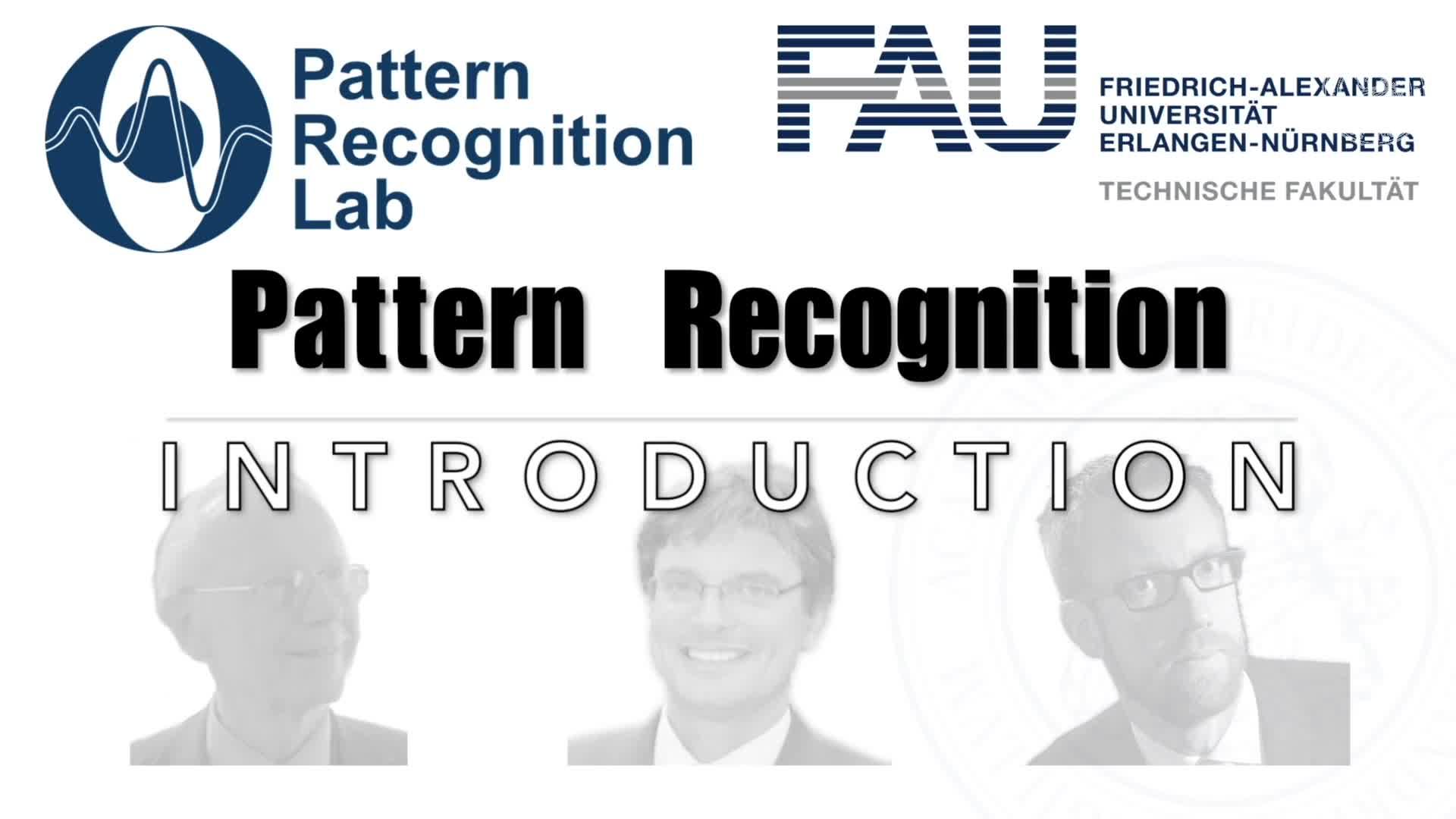 Pattern Recognition [PR] - PR 1 preview image