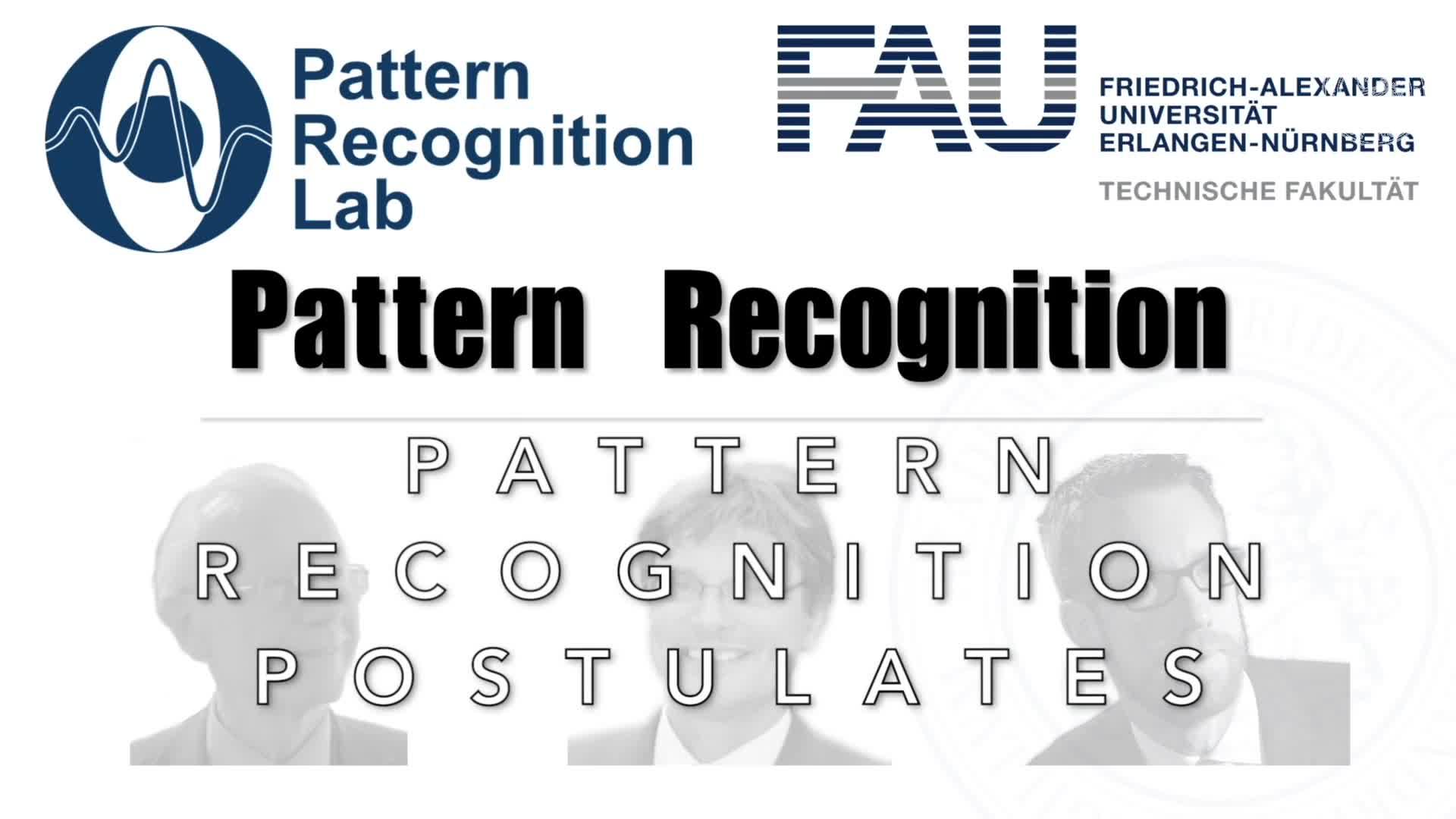 Pattern Recognition [PR] - PR 2 preview image