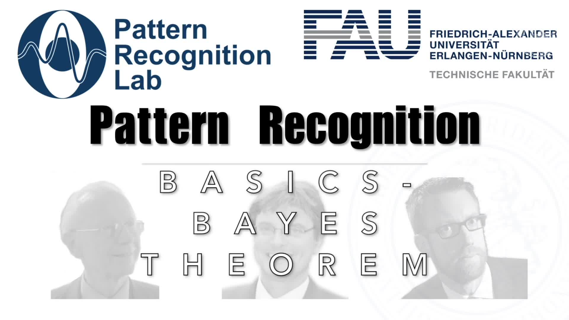 Pattern Recognition [PR] - PR 3 preview image