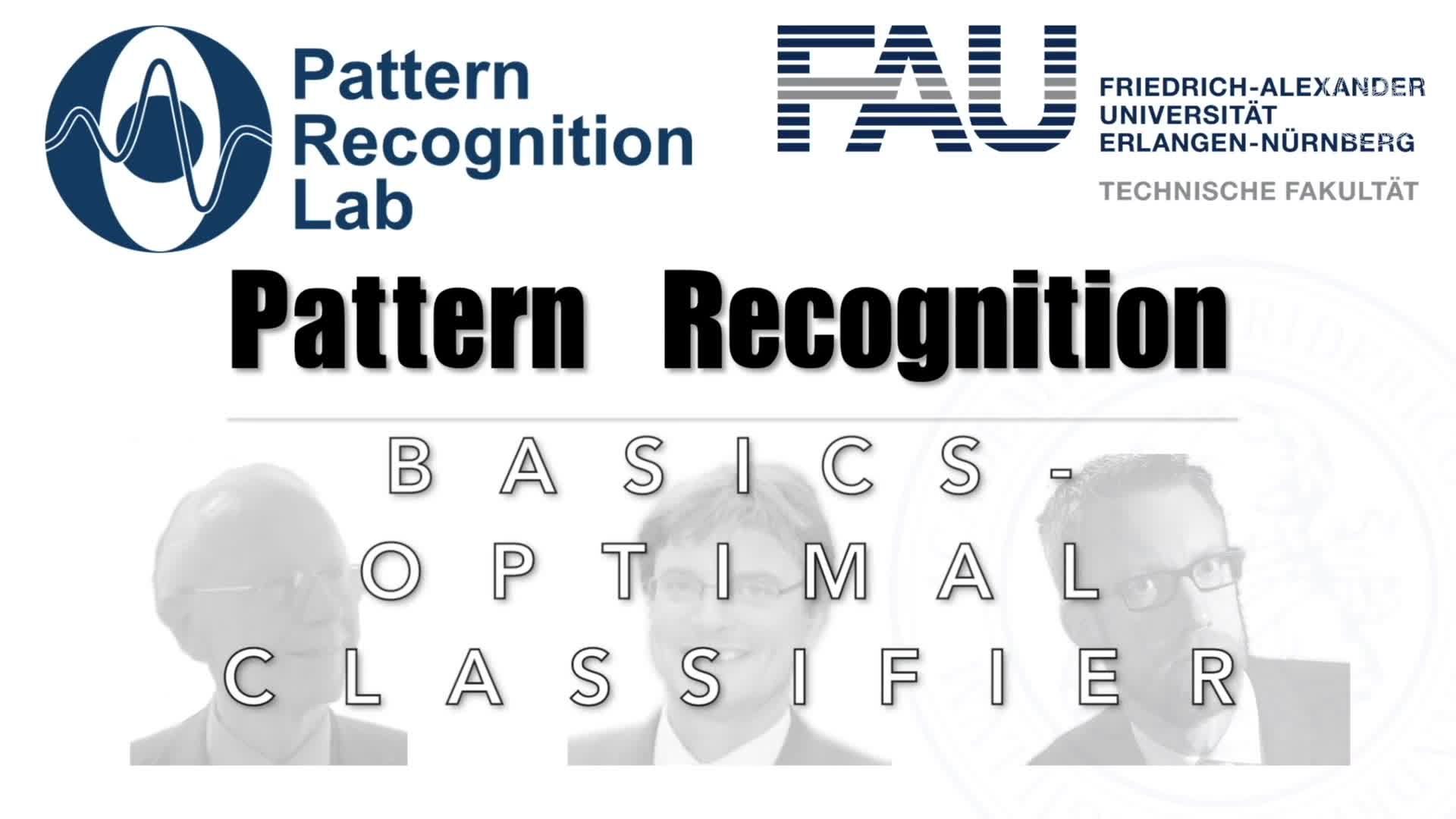 Pattern Recognition [PR] - PR 4 preview image