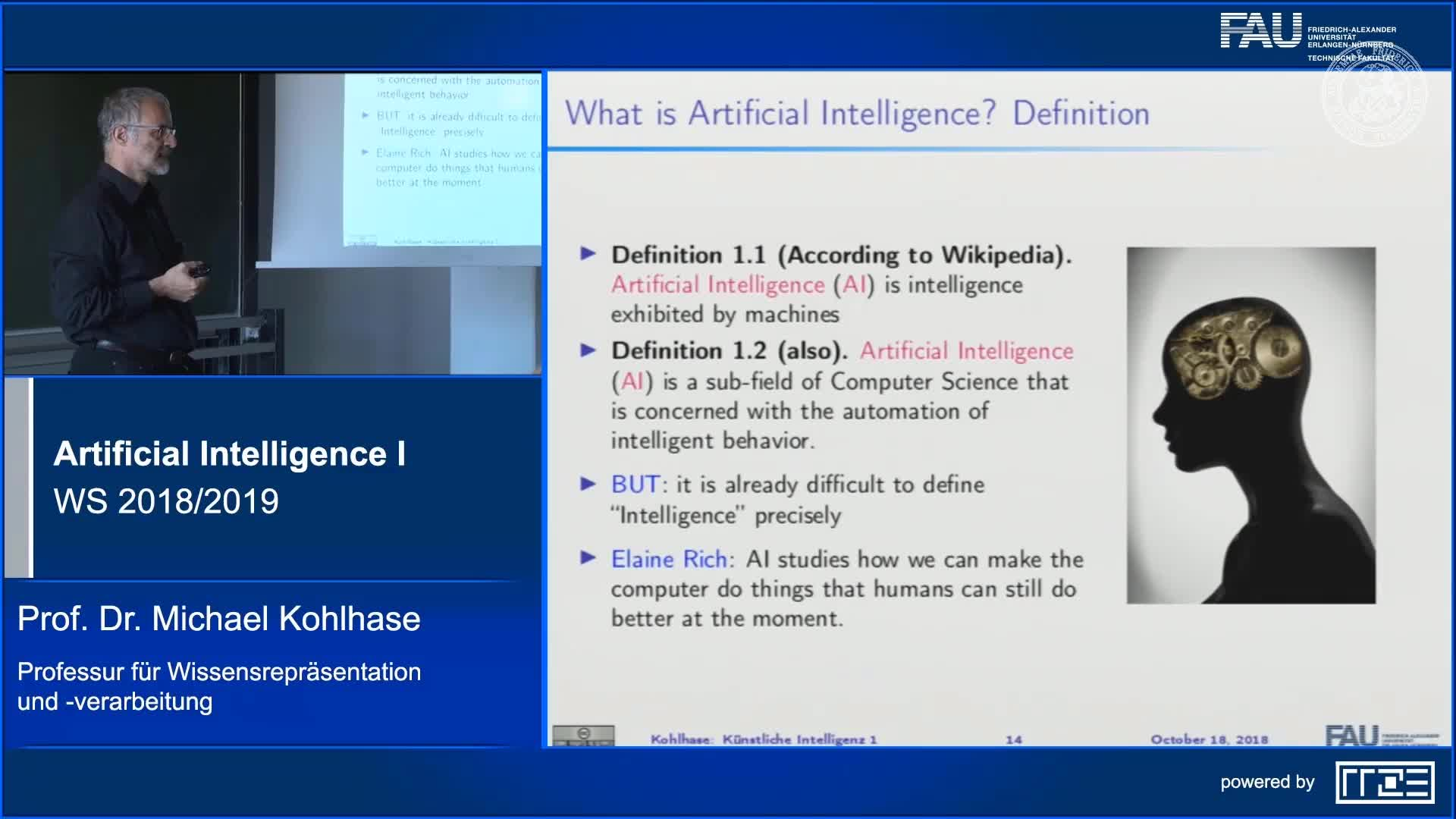 Recap Clip 3.2: What is Artificial Intelligence? preview image