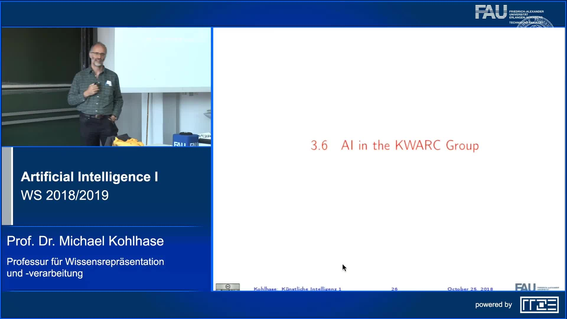 Recap: AI in the KWARC Group preview image