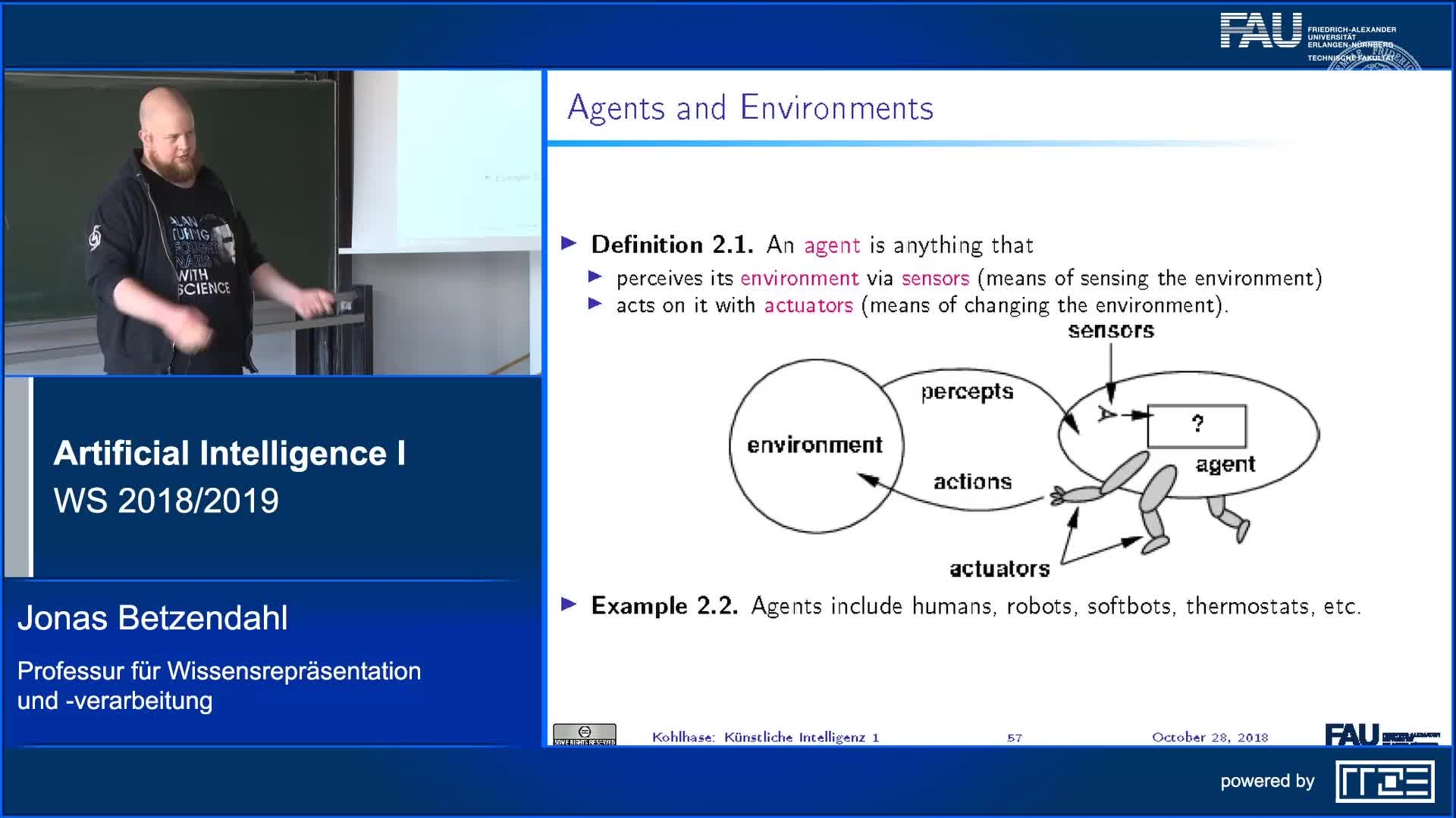 Agents and Environments as a Framework for AI preview image
