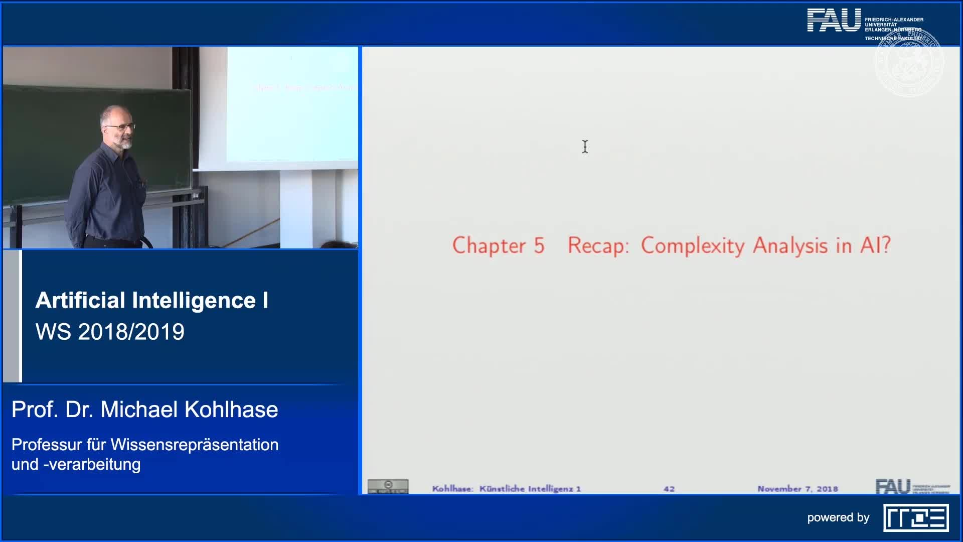 Recap Clip 5.1: Complexity Analysis in AI (Part 1) preview image