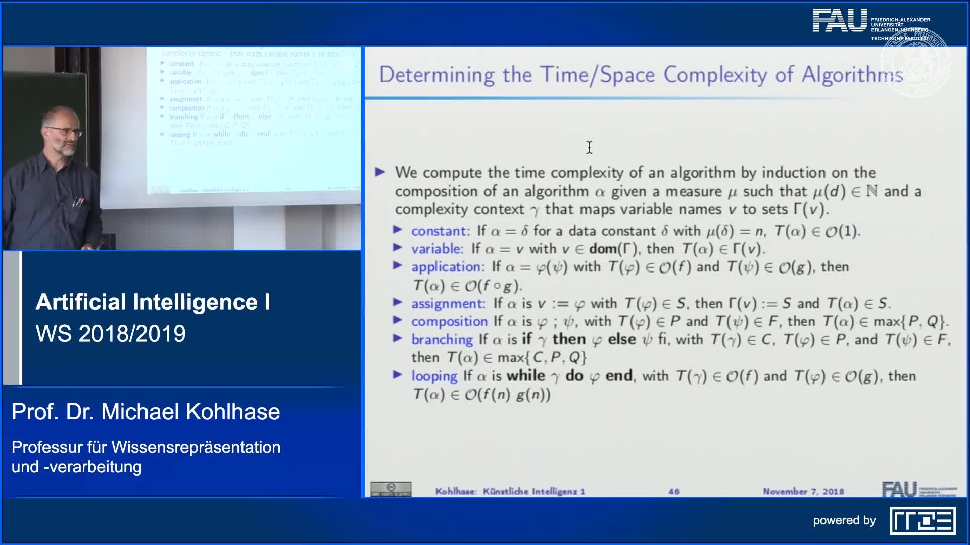 Recap Clip 5.2: Complexity Analysis in AI (Part 2) preview image