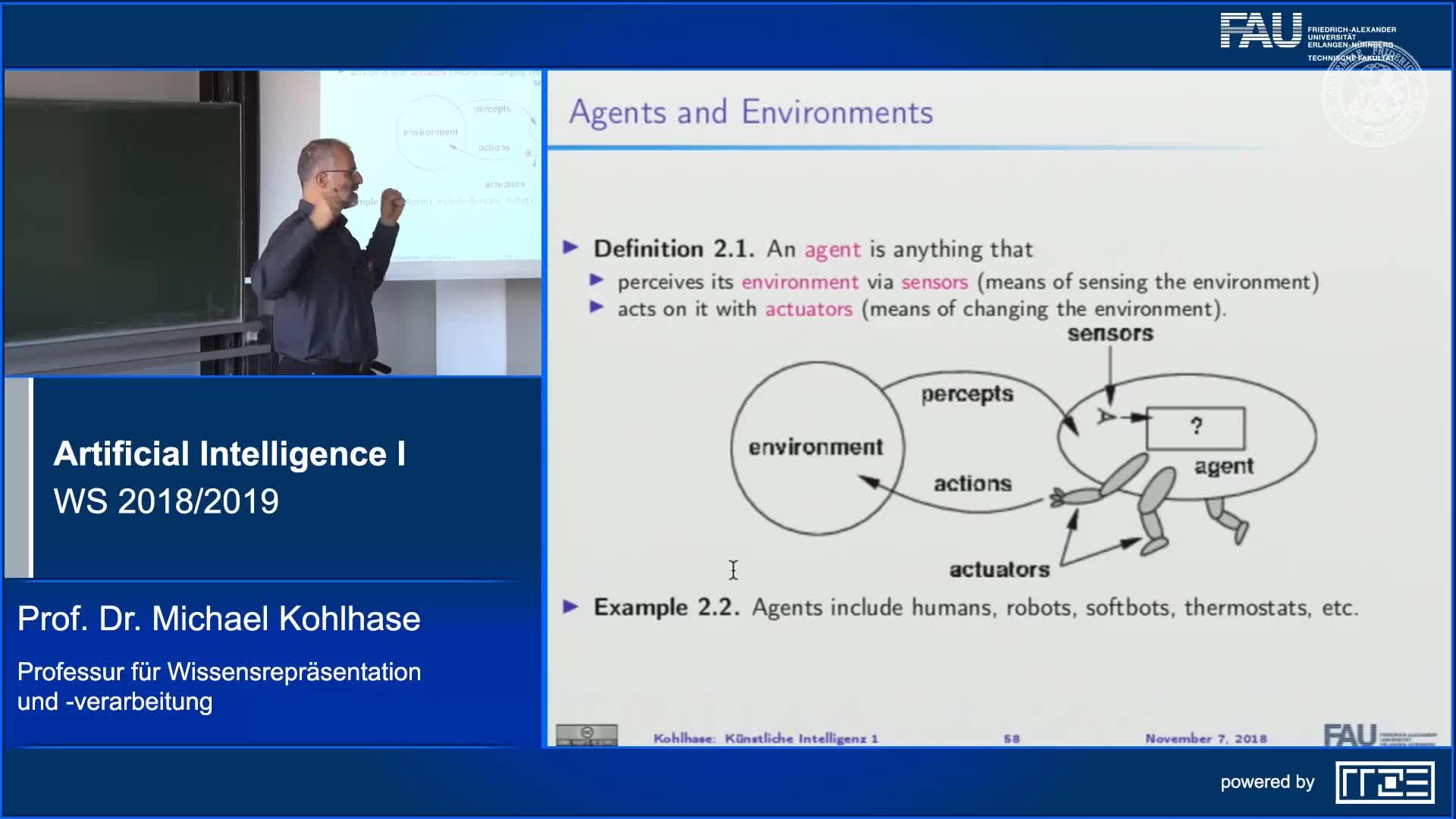 Recap: Agents and Environments as a Framework for AI preview image