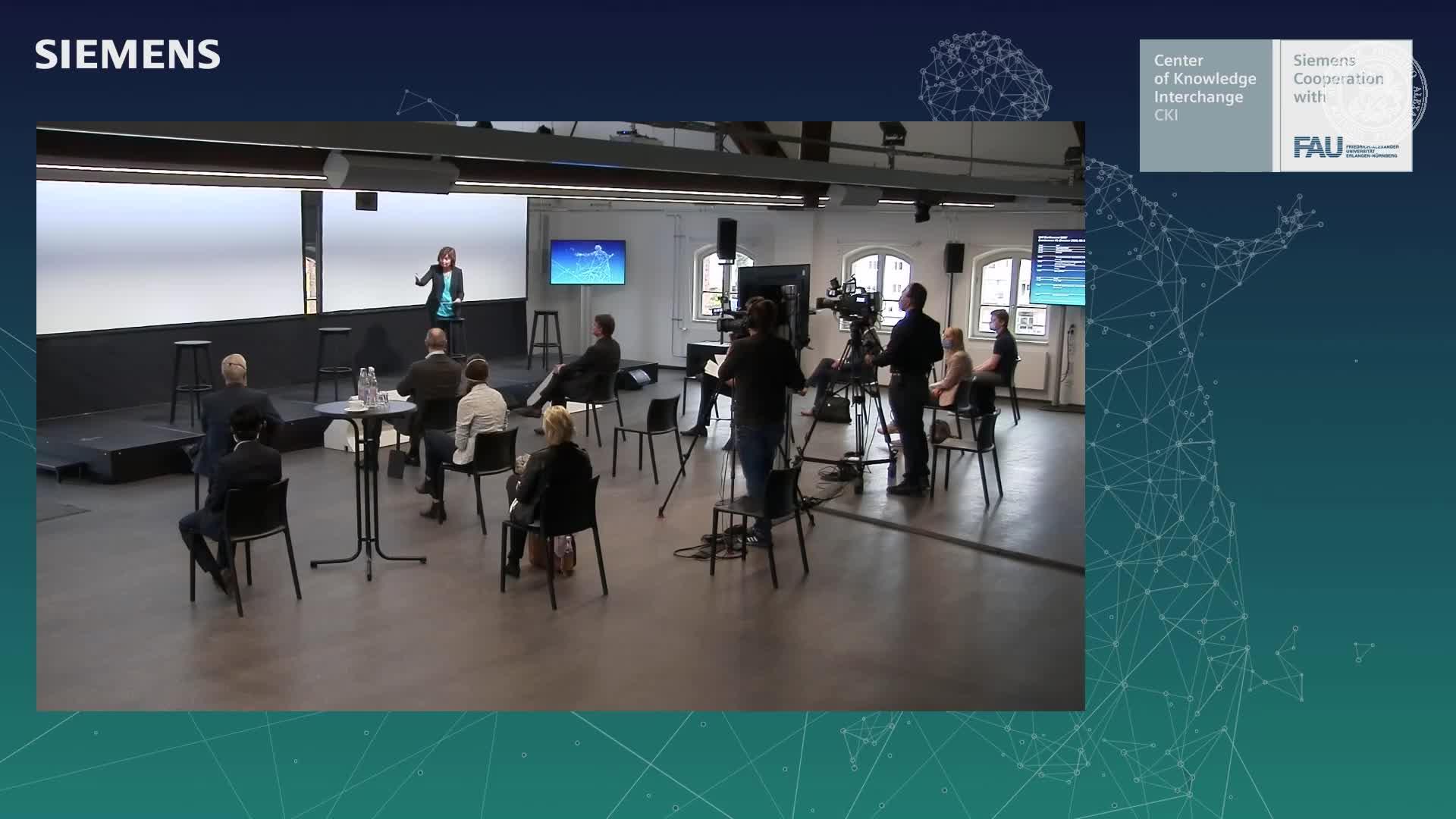 Hybrid CKI Conference - Meet Up Roland Busch & Joachim Hornegger preview image