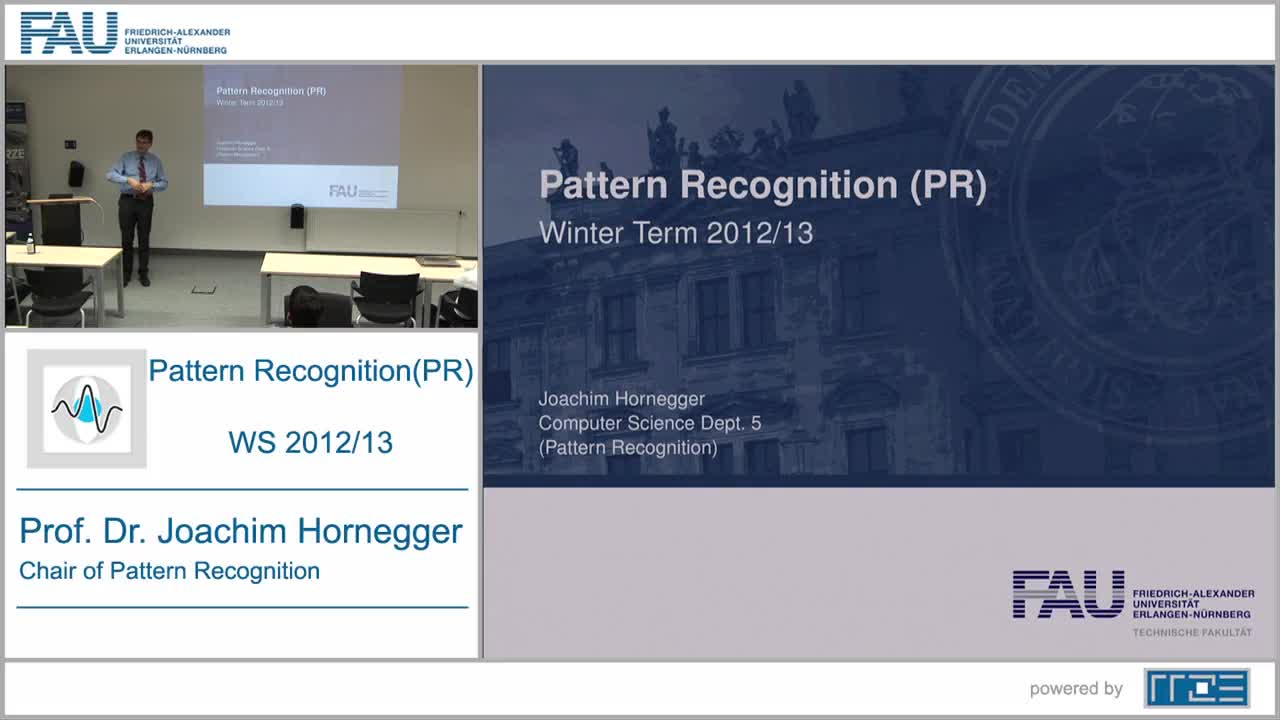 Pattern Recognition (PR) preview image