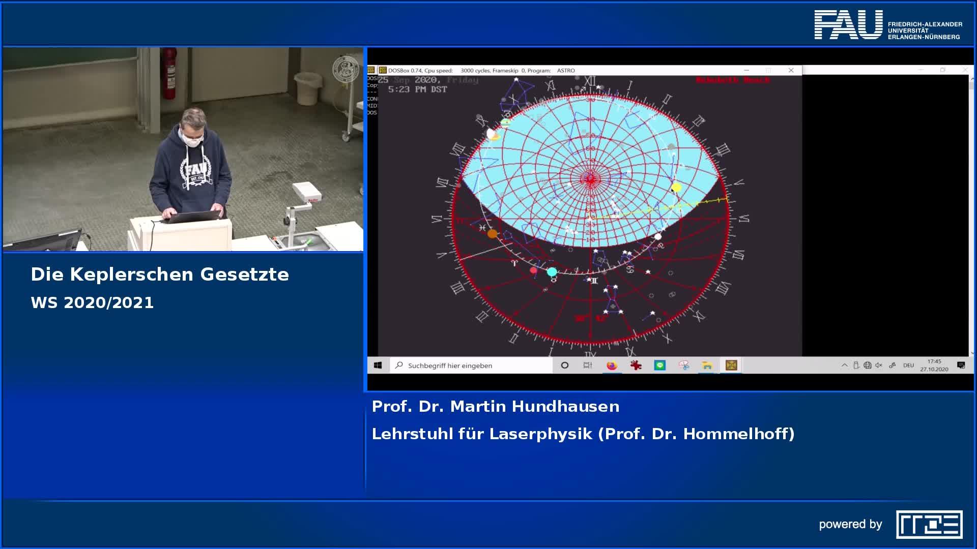 Die Keplerschen Gesetze preview image
