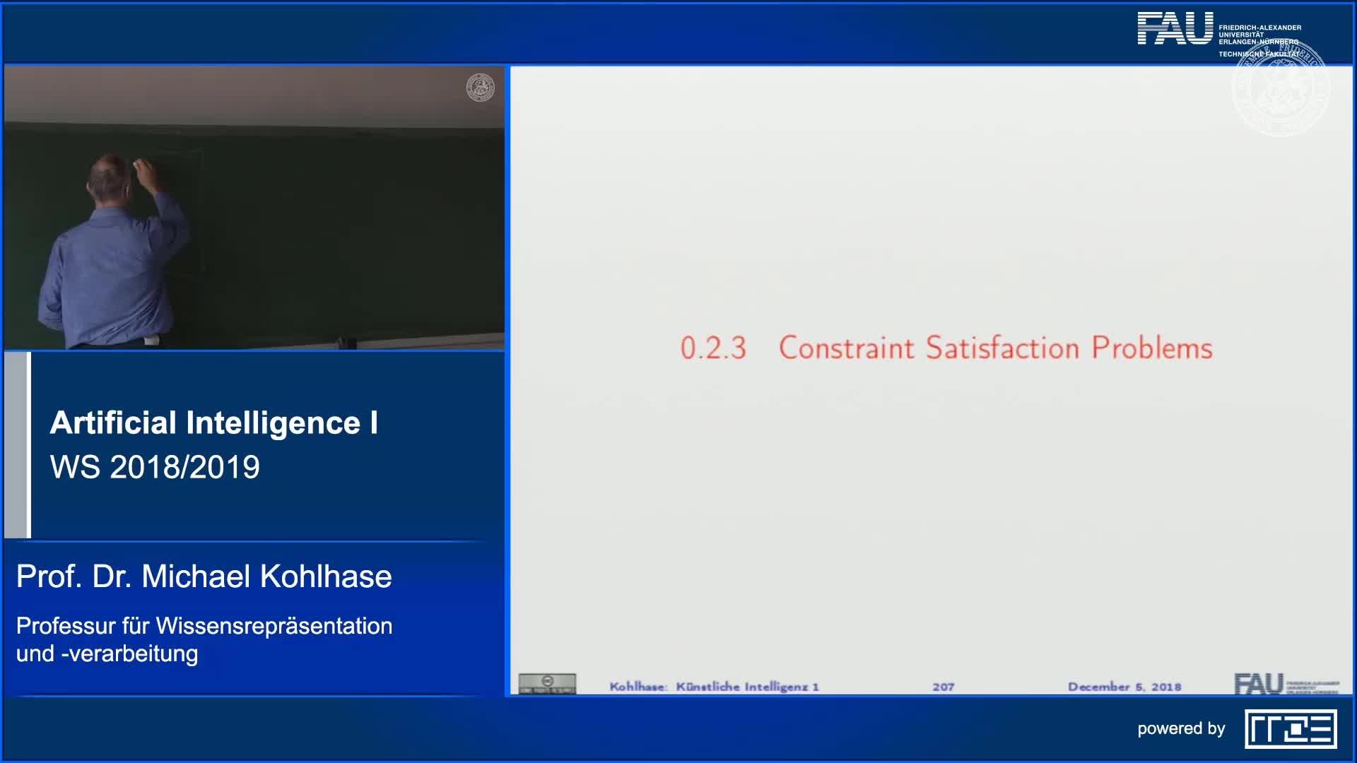 Recap Clip 9.1: Constraint Satisfaction Problems: Motivation preview image