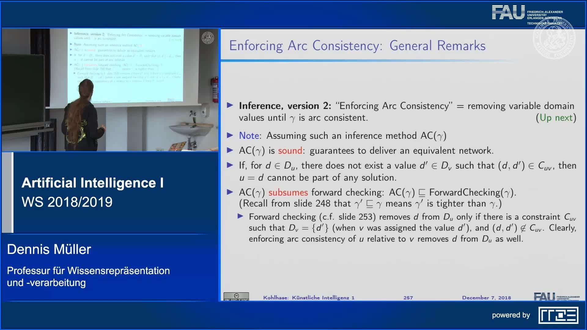 Arc Consistency (Part 2) preview image