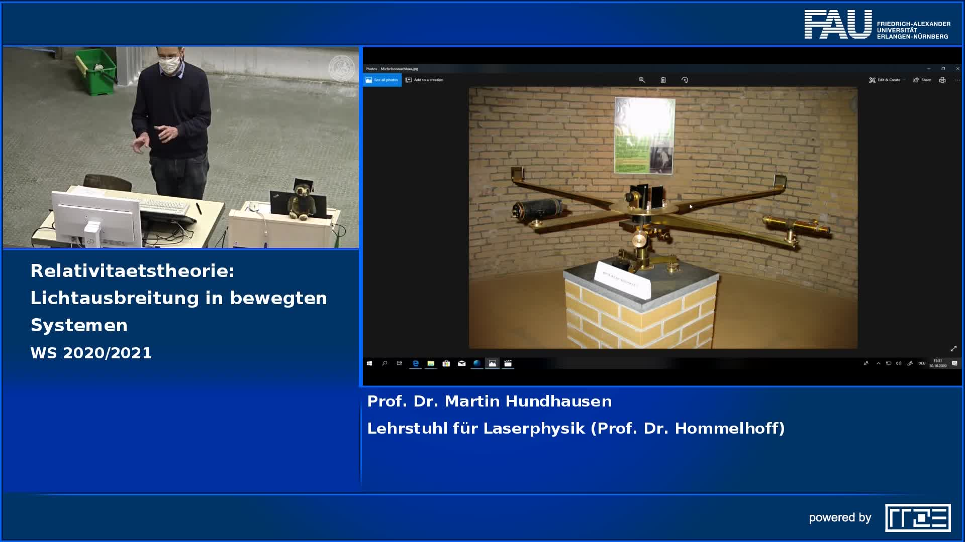 Relativitätstheorie: Lichtausbreitung in bewegten Systemen preview image
