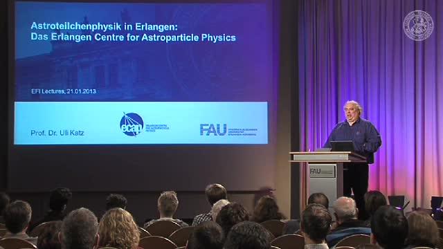 Das Erlangen Centre for Astroparticle Physics - Astroteilchenphysik in Erlangen preview image