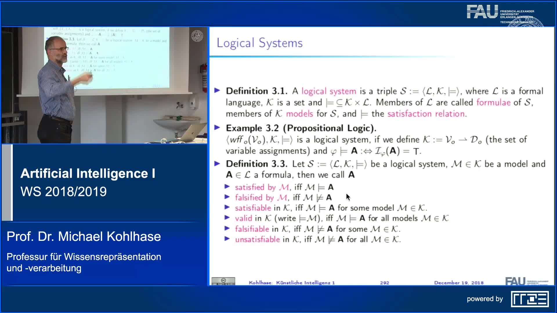 Recap Clip 11.5: Formal Systems (Syntax and Semantics in General) (Part 1) preview image