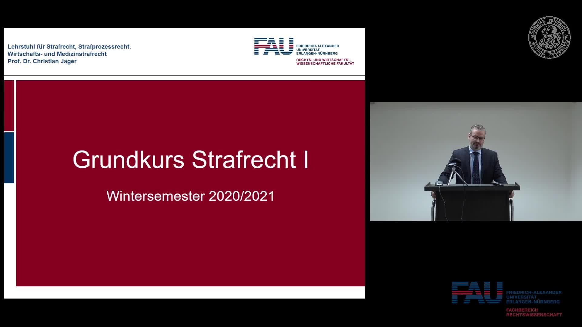 Grundkurs Strafrecht I - Einheit 1 preview image