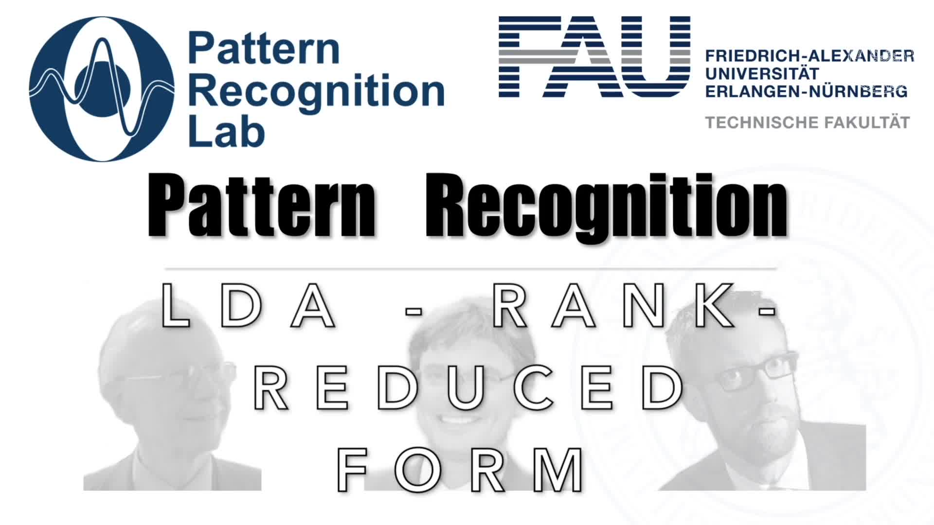 Pattern Recognition [PR] - PR 13 preview image