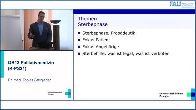 QB13 Palliativmedizin - Sterbephase I,  Propädeutik und Erkennen preview image