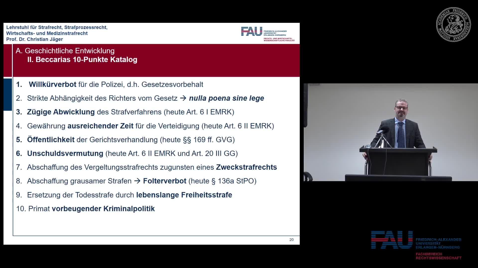 Grundkurs Strafrecht I - Einheit 2 preview image