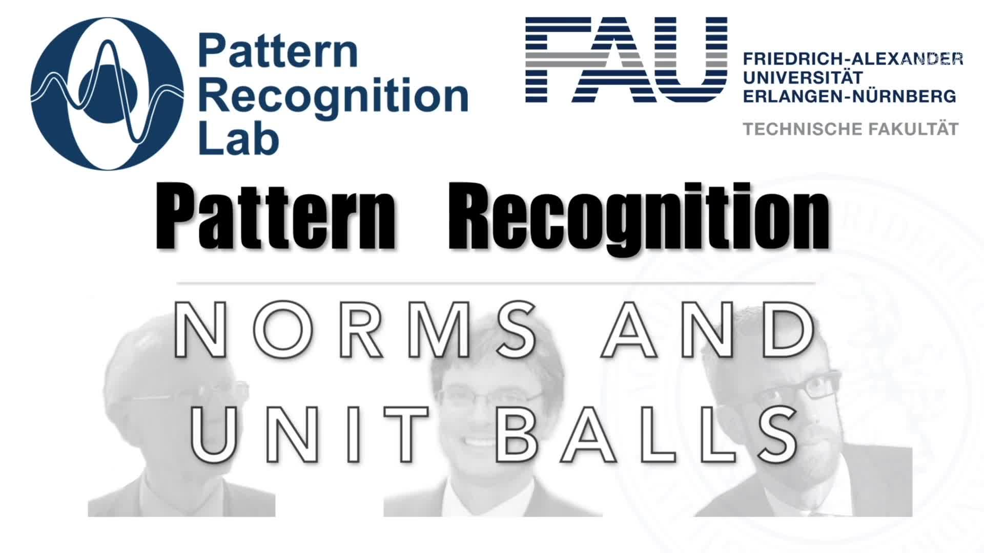 Pattern Recognition [PR] - PR 17 preview image