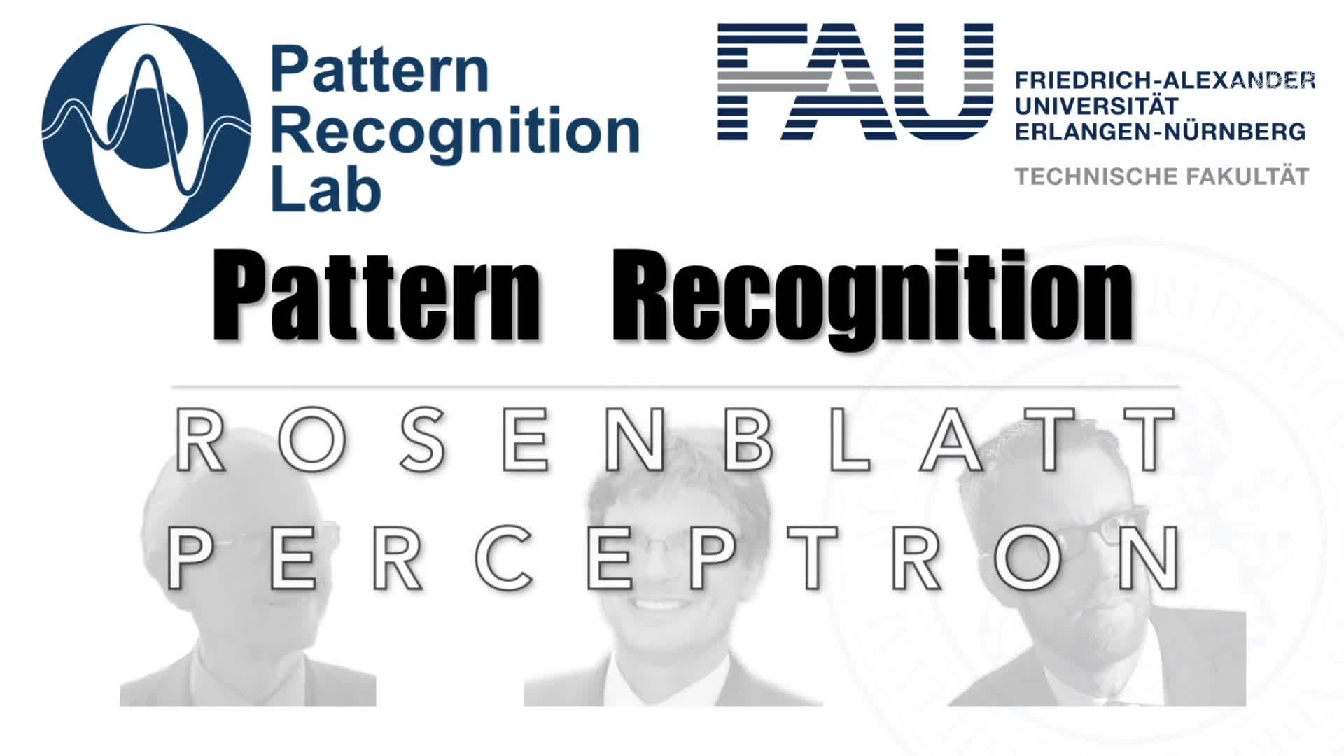 Pattern Recognition [PR] - PR 19 preview image