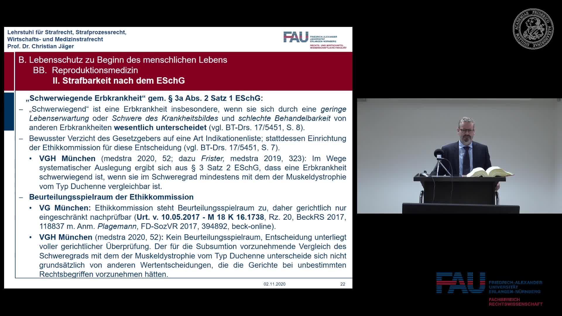 Medizinstrafrecht - Einheit 2 preview image