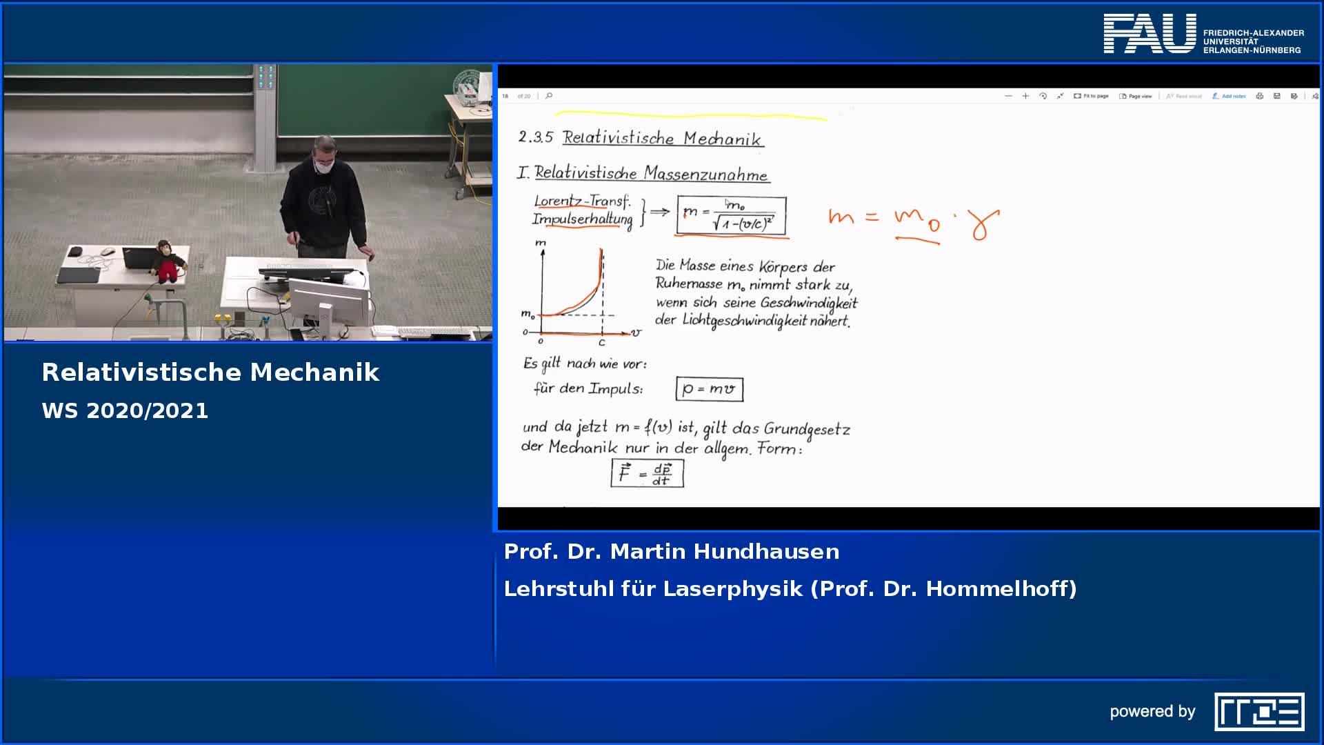 Relativistische Mechanik preview image