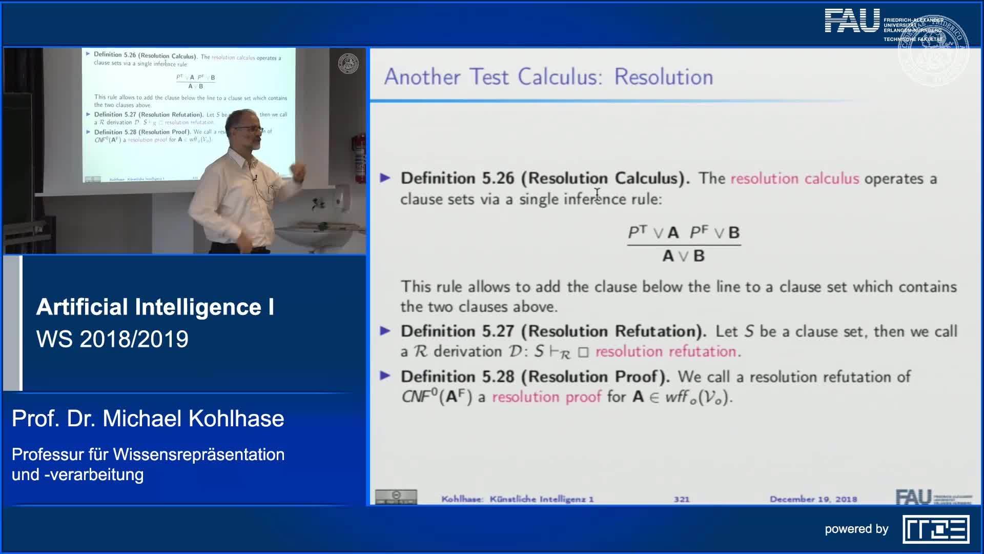 Resolution for Propositional Logic preview image