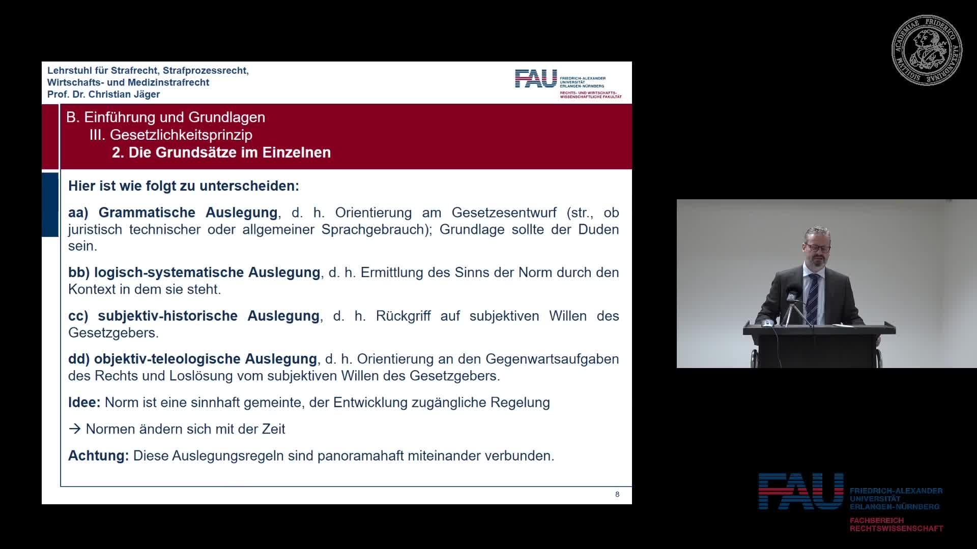 Grundkurs Strafrecht I - Einheit 4 preview image