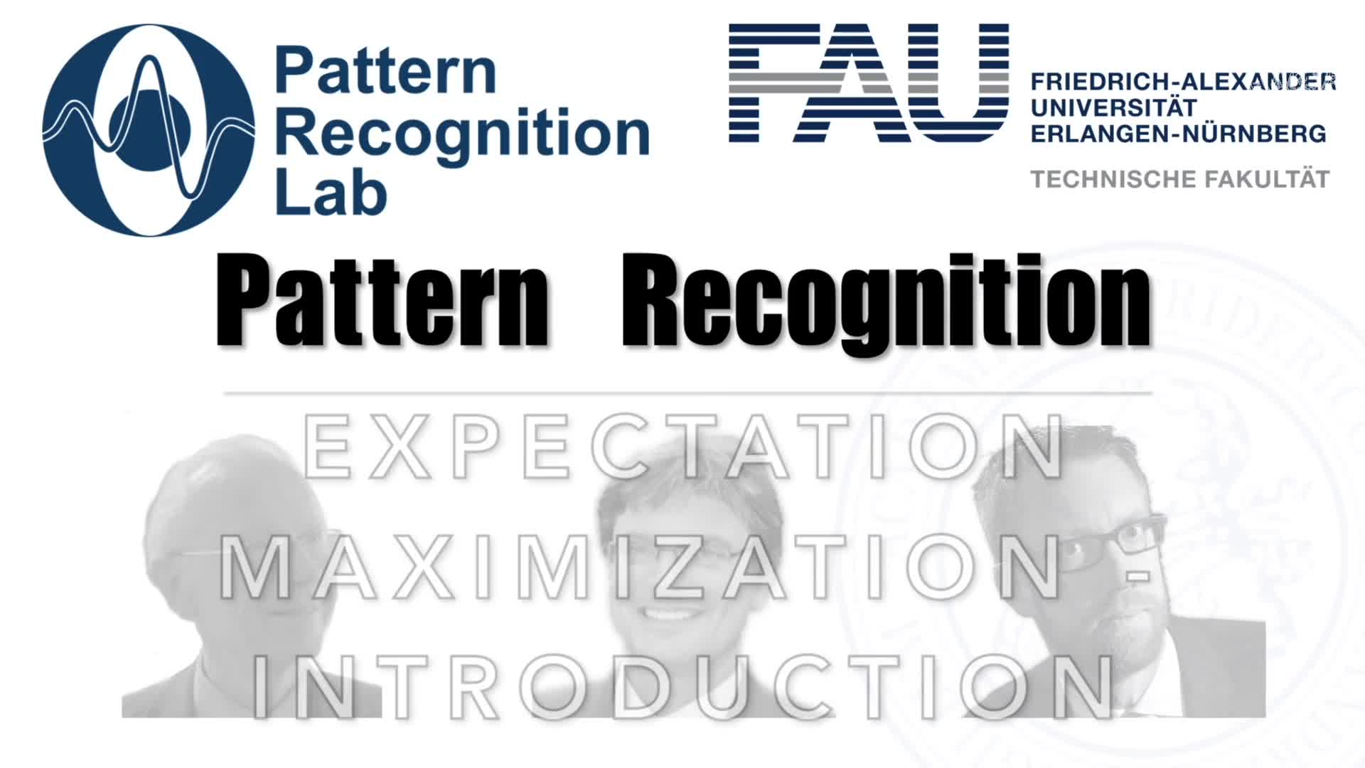 Pattern Recognition [PR] - PR 29 preview image