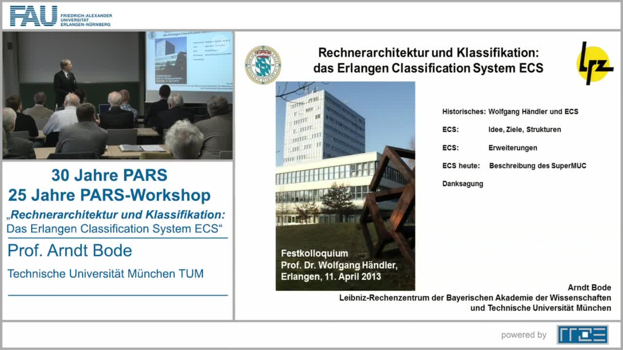 Rechnerarchitektur und Klassifikation: Das Erlangen Classification System ECS preview image