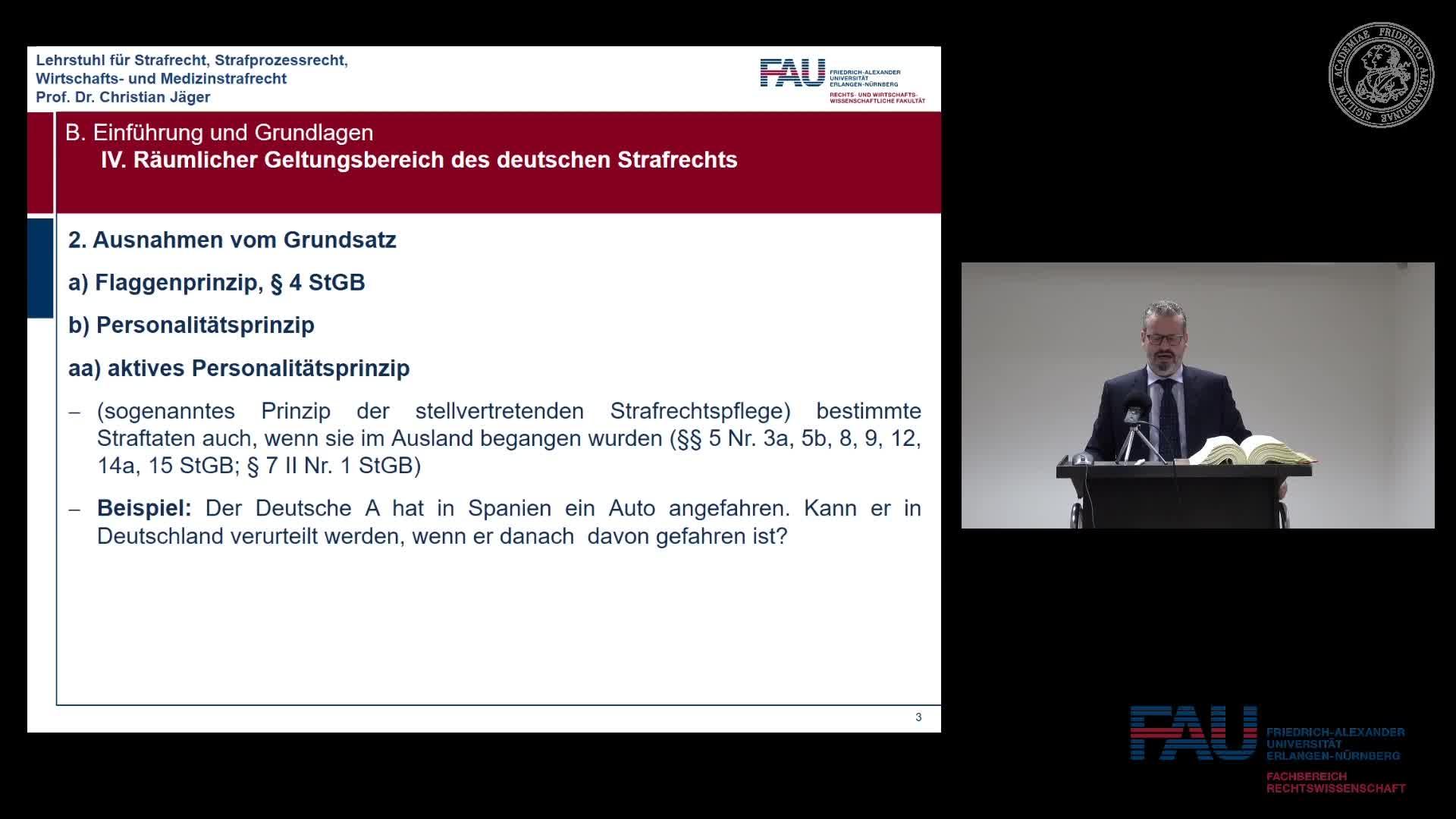 Grundkurs Strafrecht I - Einheit 5 preview image