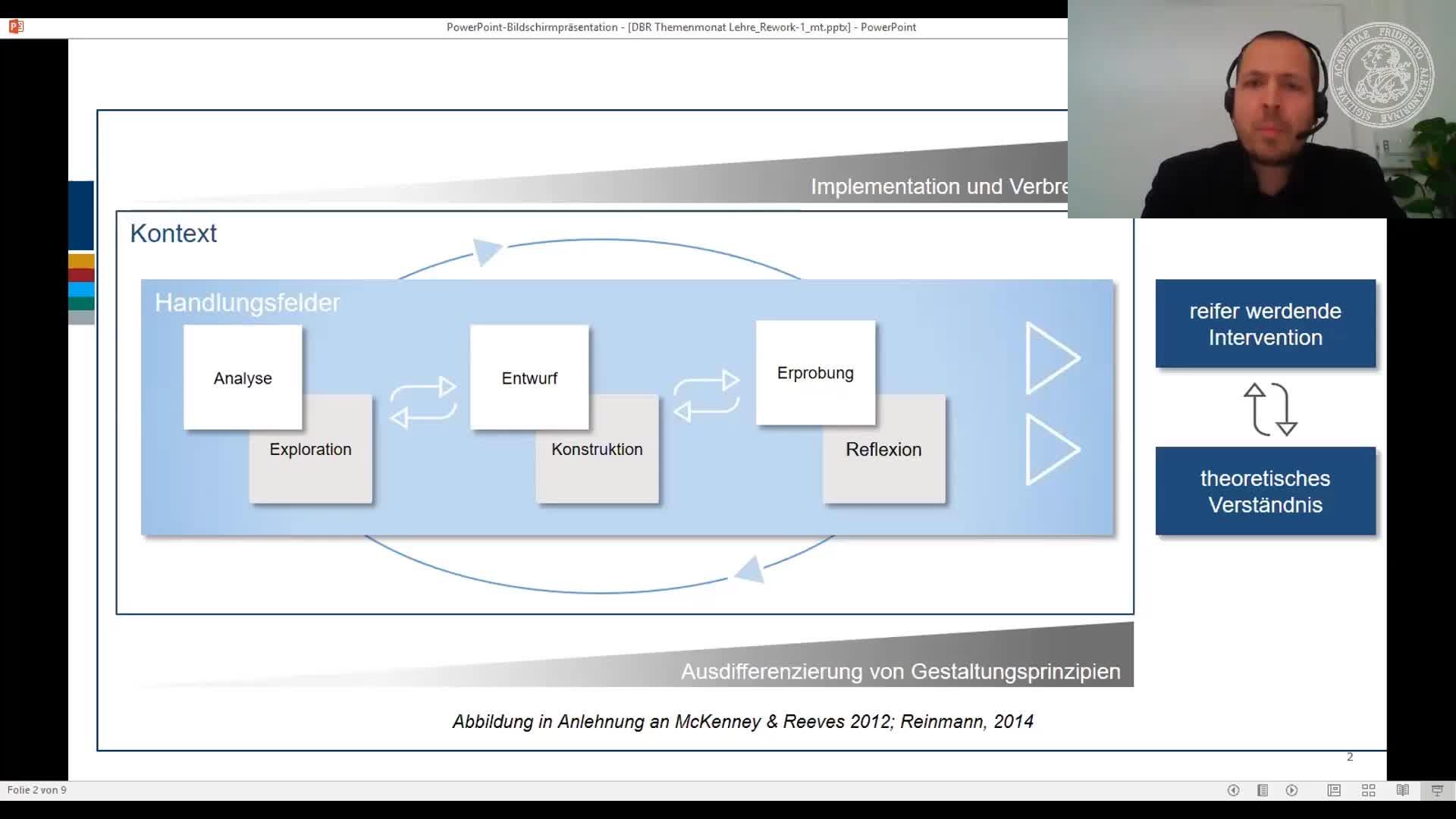 Dr. Dirk Jahn: Design Based Research - Kurzeinführung mit Beispiel preview image