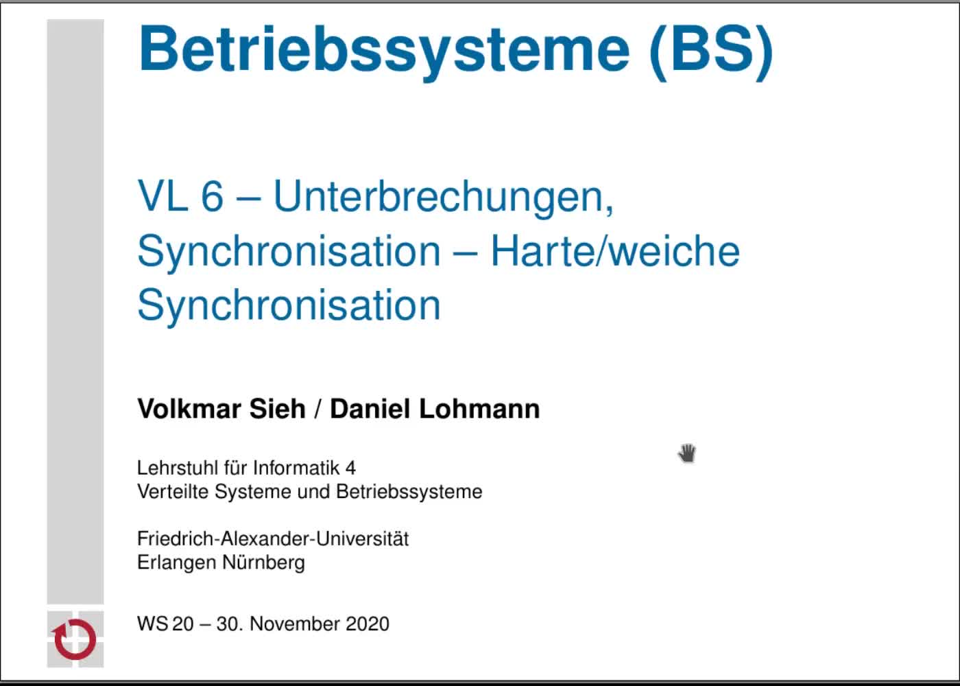Harte/weiche Synchronisation preview image