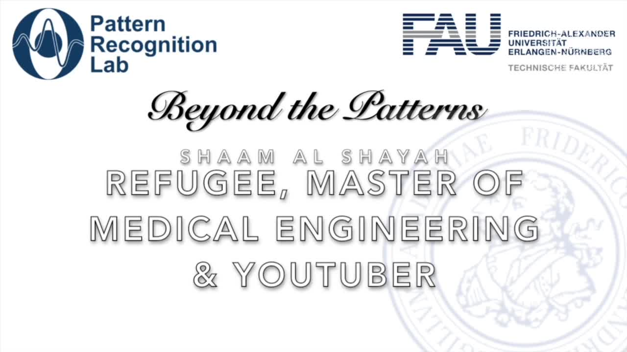 Beyond the Patterns - Shaam Al Shayah - Refugee, Master of Medical Engineering & YouTuber preview image