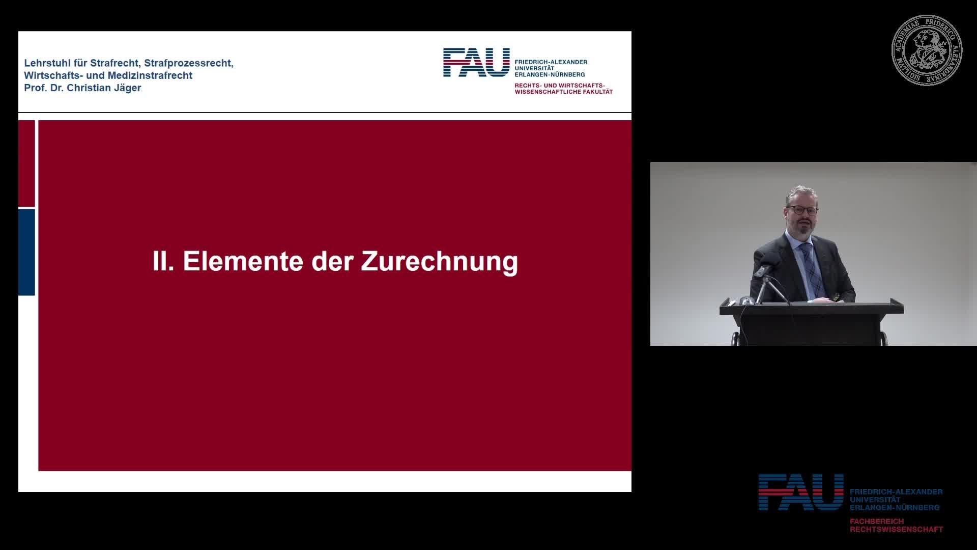 Grundkurs Strafrecht I - Einheit 6 preview image