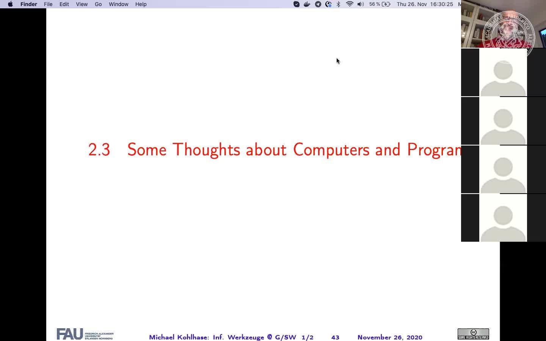 Informatische Werkzeuge in den Geistes- und Sozialwissenschaften I (WS 2020/21) preview image
