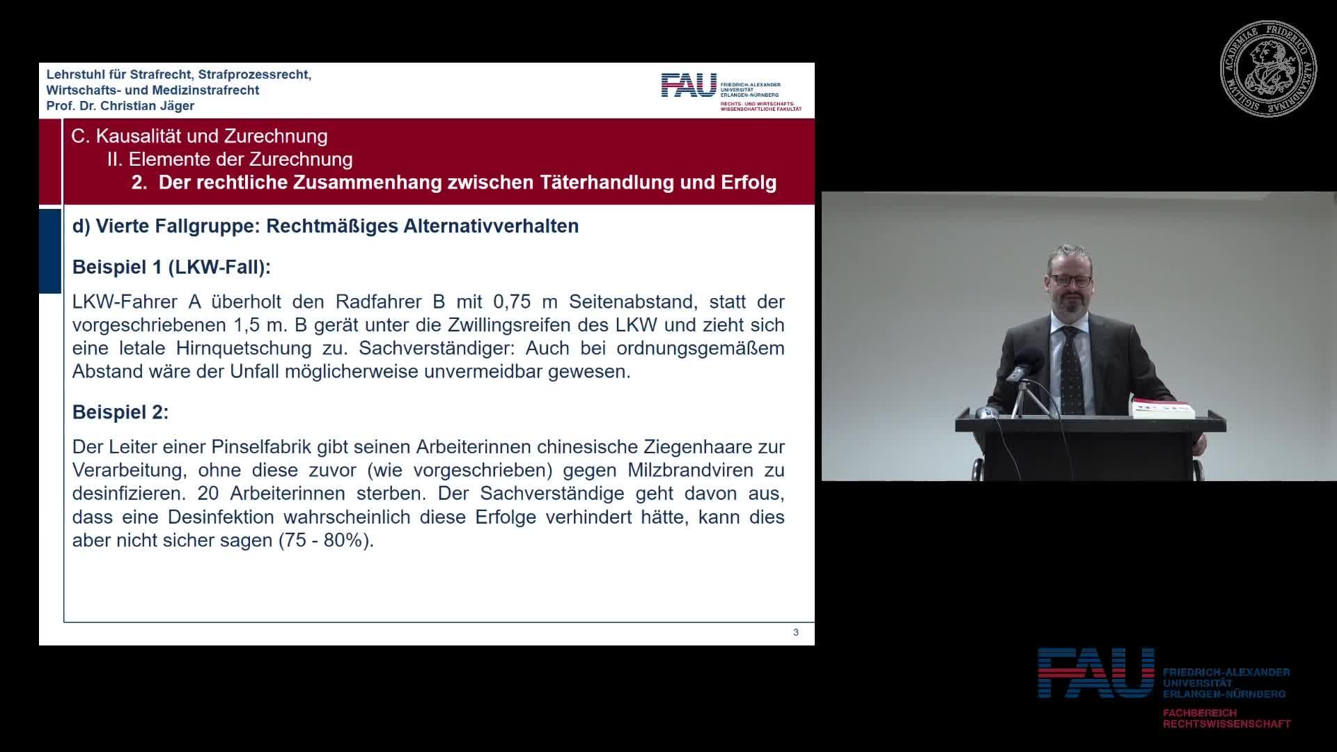 Grundkurs Strafrecht I - Einheit 8 preview image