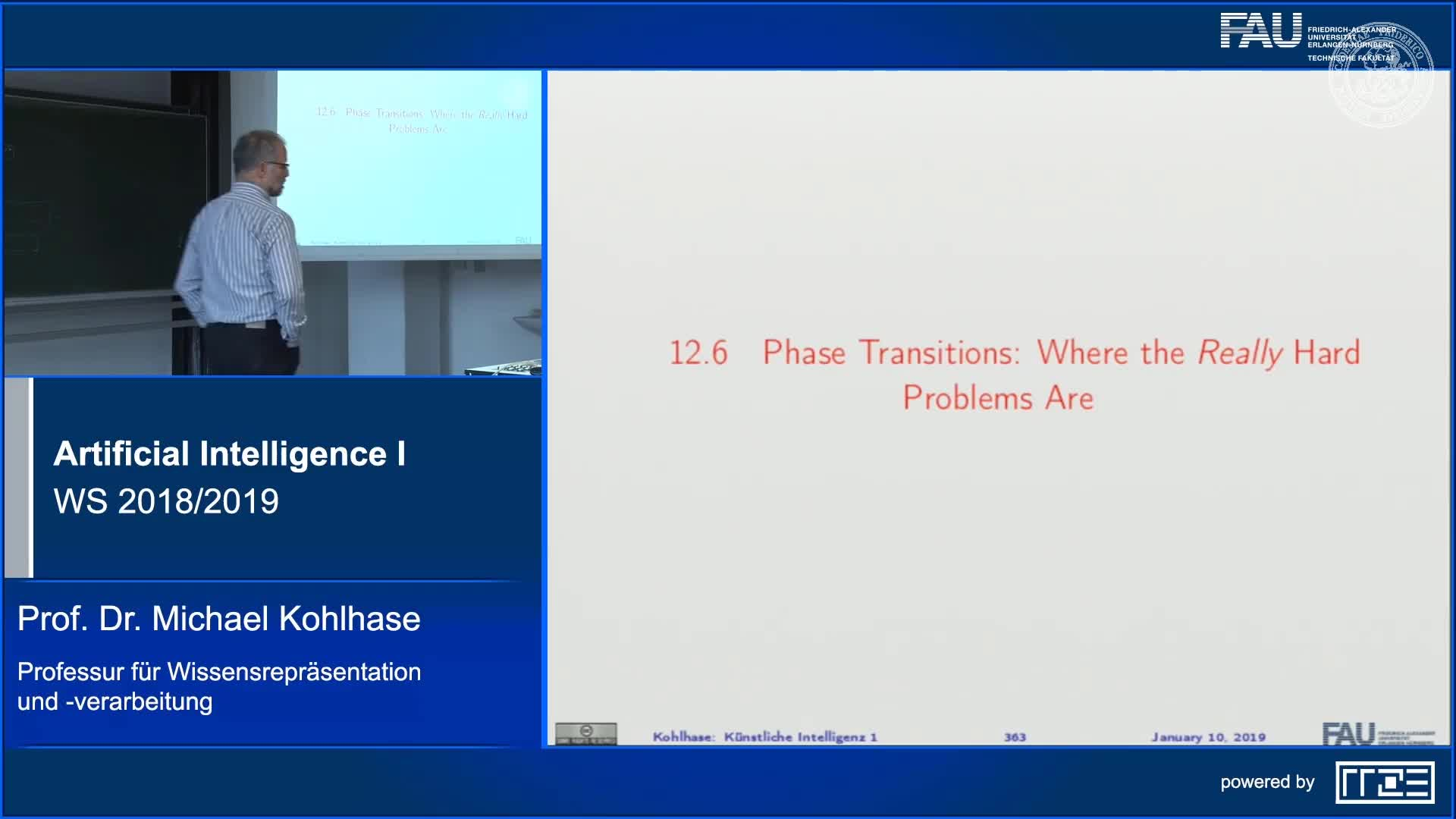 Phase Transitions: Where the Really Hard Problems Are preview image