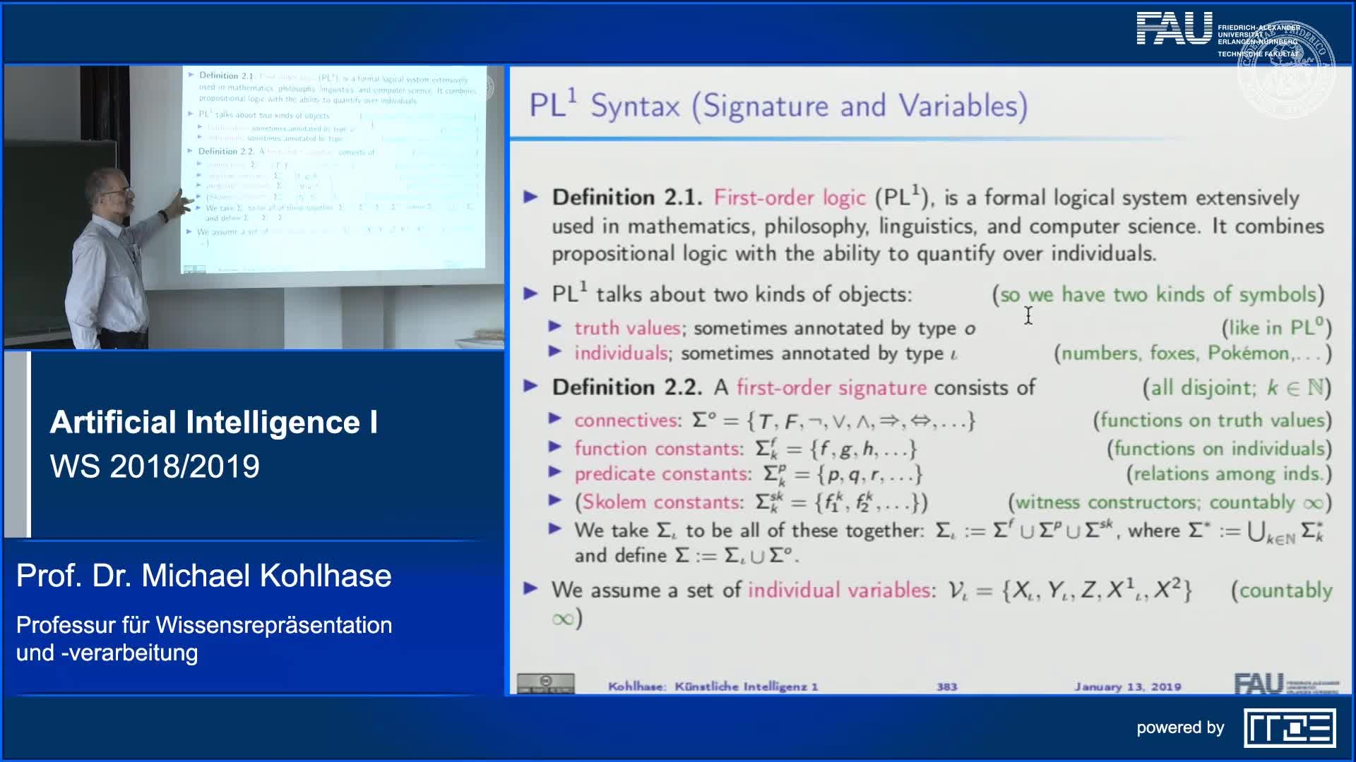 First-Order Logic: Syntax and Semantics preview image