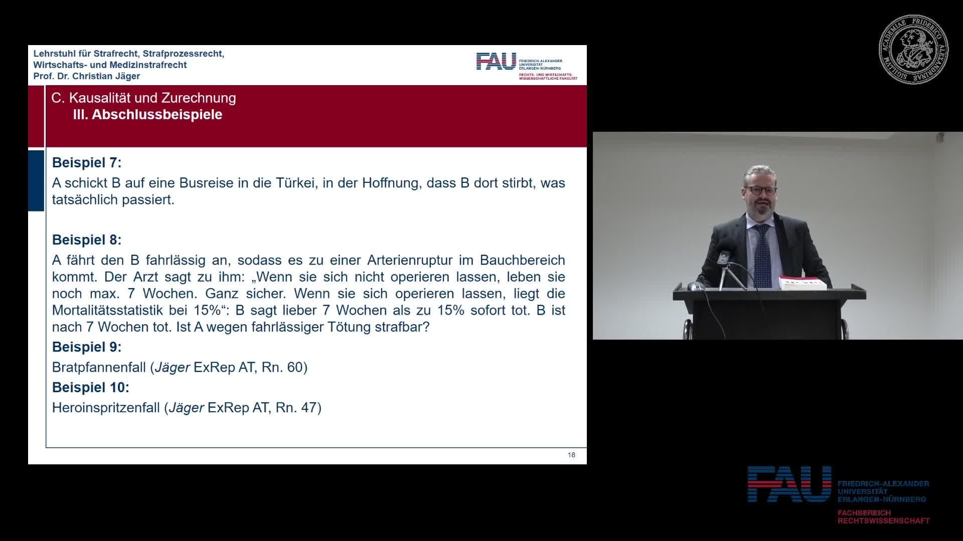 Grundkurs Strafrecht I - Einheit 10 preview image