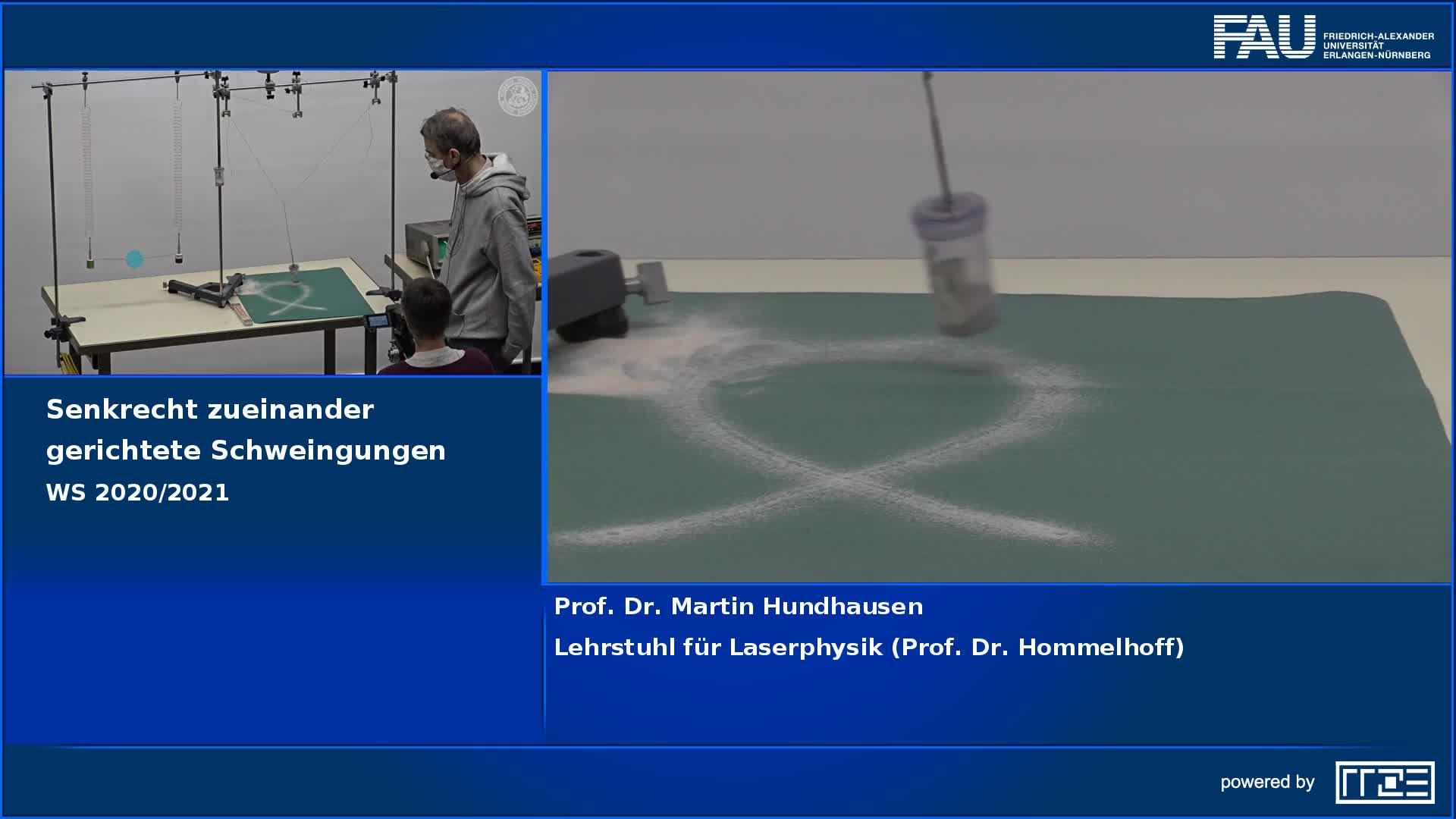 Senkrecht zueinander gerichtete Schwingungen preview image