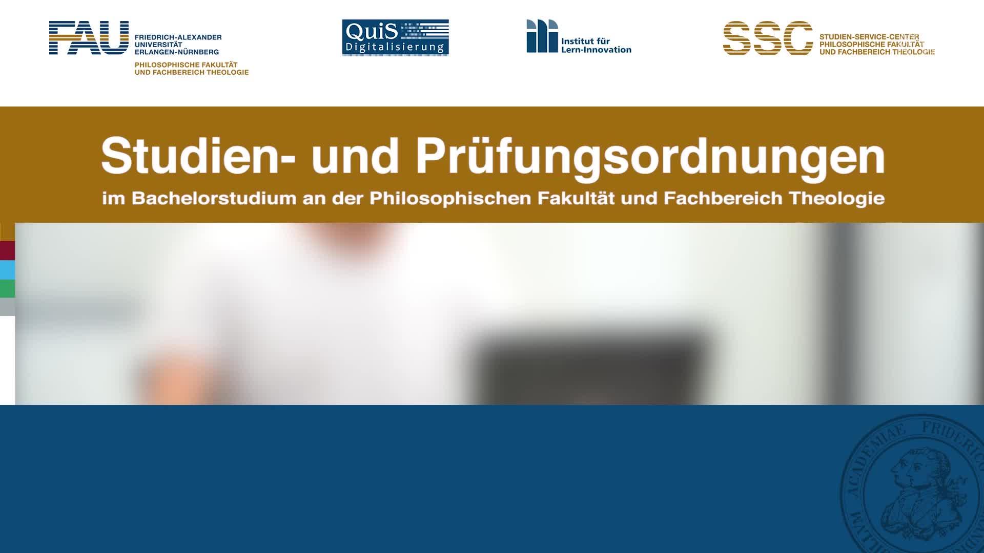 Studien- und Prüfungsordnungen preview image