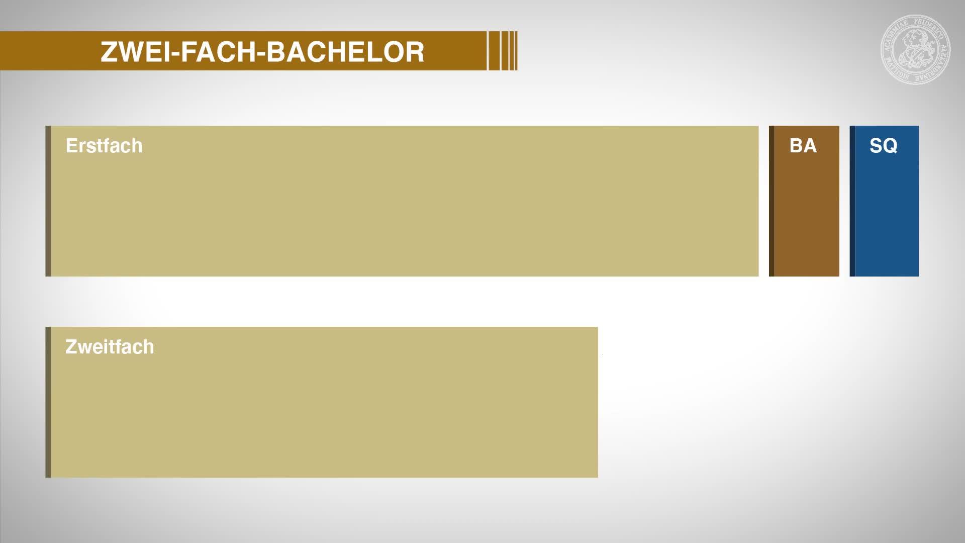 Aufbau des Zwei-Fach-Bachelors preview image