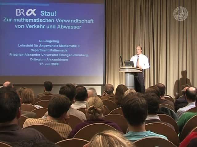 Stau! - Zur mathematischen Verwandtschaft von Verkehr und Abwasser preview image