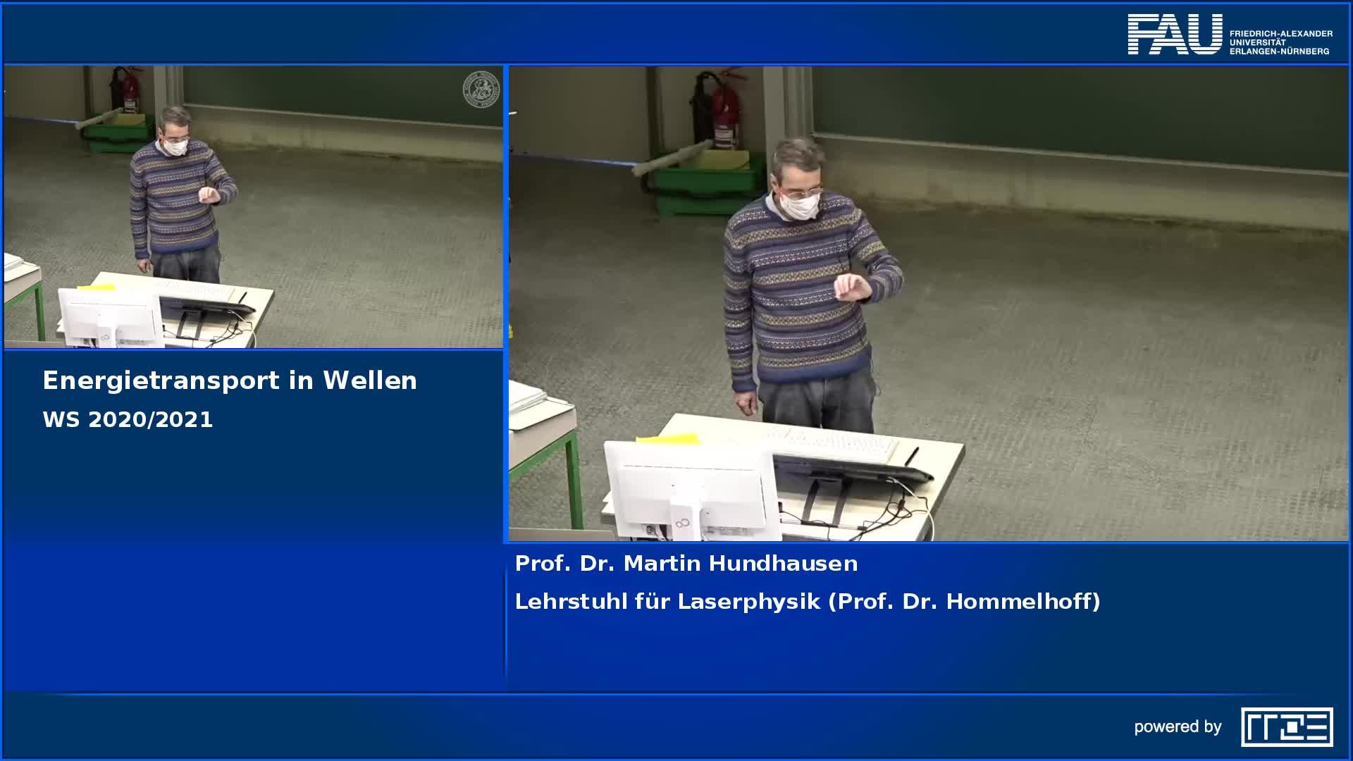 Energietransport in Wellen preview image